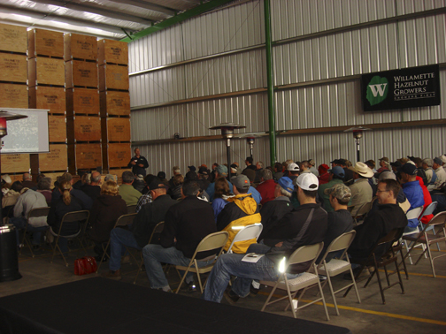 Willamette Hazelnut Spring Growers Forum